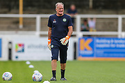 Forest Green Rovers goalkeeper coach David Coles during the Pre-Season Friendly match between Bath City and Forest Green Rovers at Twerton Park, Bath, United Kingdom on 27 July 2019.