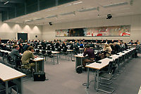 30 OCT 2003, BERLIN/GERMANY:<br /> Uebersicht, SPD Fraktionssaal, waehrend einer Sitzung des Bundestagsausschusses Gesundheit und Soziale Sicherung, Deutscher Bundestag<br /> IMAGE: 20031030-02-001<br /> KEYWORDS: Auschuss, Ausschuß, Übersicht, Saal