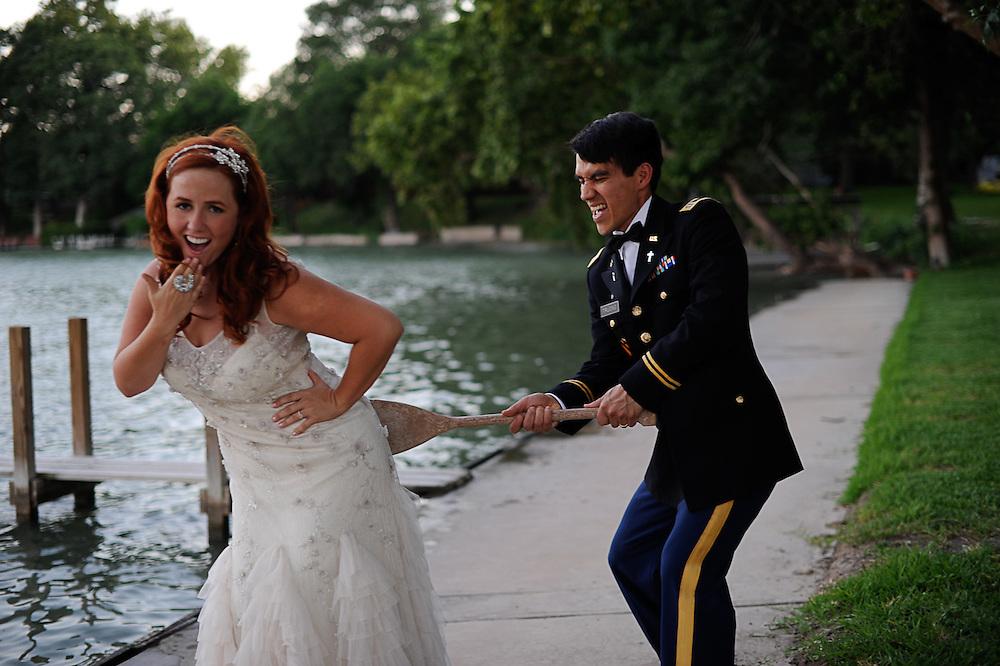 Shavonne and Thi photogrphed Tuesday June 14, 2011 Lake McQueeny, TX. Photo©Bahram Mark Sobhani