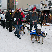 The Last Great Race Downtown Anchorage, Alaska, March 5 2016