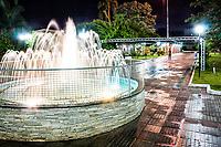 Praça Frei Bruno. Xaxim, Santa Catarina, Brasil. / <br /> Frei Bruno Square. Xaxim, Santa Catarina, Brazil.