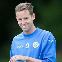 St Johnstone Pre-Season Training...07.07.14<br /> Steven MacLean<br /> Picture by Graeme Hart.<br /> Copyright Perthshire Picture Agency<br /> Tel: 01738 623350  Mobile: 07990 594431
