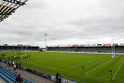 A general view of Sandy Park ahead of the European 7s Grand Prix - Photo mandatory by-line: Dougie Allward/JMP - Mobile: 07966 386802 - 11/07/2015 - SPORT - Rugby - Exeter - Sandy Park - European Grand Prix 7s
