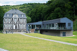 Westphalian open-air museum, or Freilichtmuseum  in Hagen, Ruhrgebeit, North Rhine-Westphalia, Germany