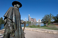 Stevie Ray Vaughn Statue, Lady Bird Lake, Austin, TX