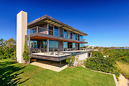 Modern home Designed by architect Fred Stelle, Flying Point Rd, Water Mill, NY