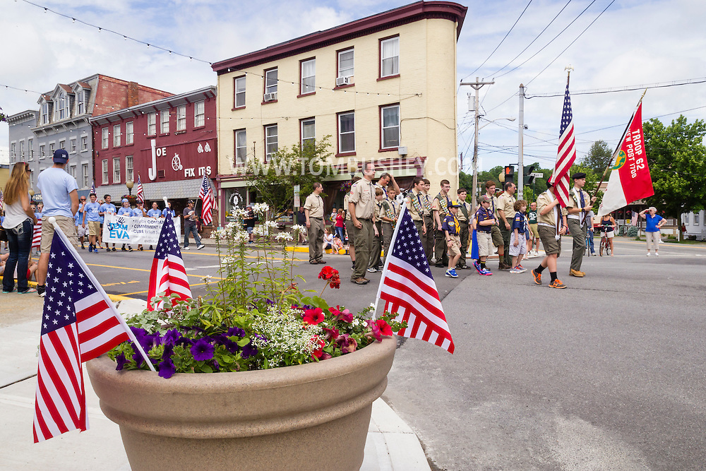 Goshen, New York - The Goshen Memorial Day parade was held on May 30, 2016.