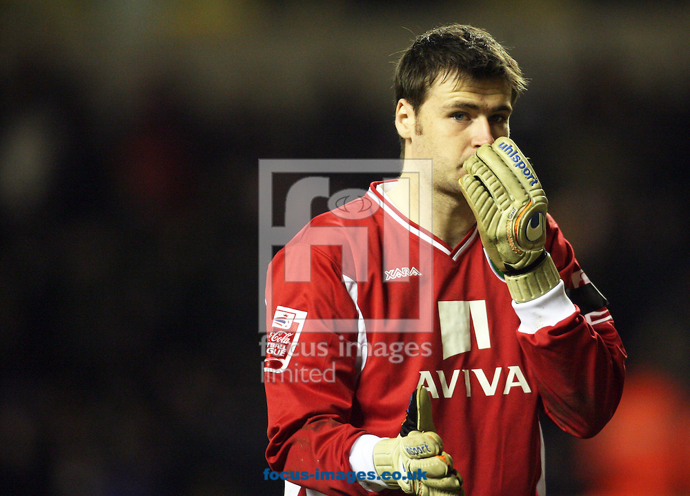 Wolverhampton - Tuesday February 3rd, 2009: David Marshall of Norwich City during the Coca Cola Championship match at Molineaux, Wolverhampton. (Pic by Chris Ratcliffe/Focus Images)