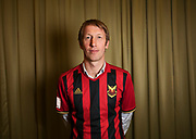 ARLANDA, SWEDEN - MARCH 21: Graham Potter of Ostersunds FK during the Allsvenskan Kick-Off Meeting at Clarion Hotel Arlanda on March 21, 2018 in Arlanda, Sweden. Photo by Nils Petter Nilsson/Ombrello ***BETALBILD***