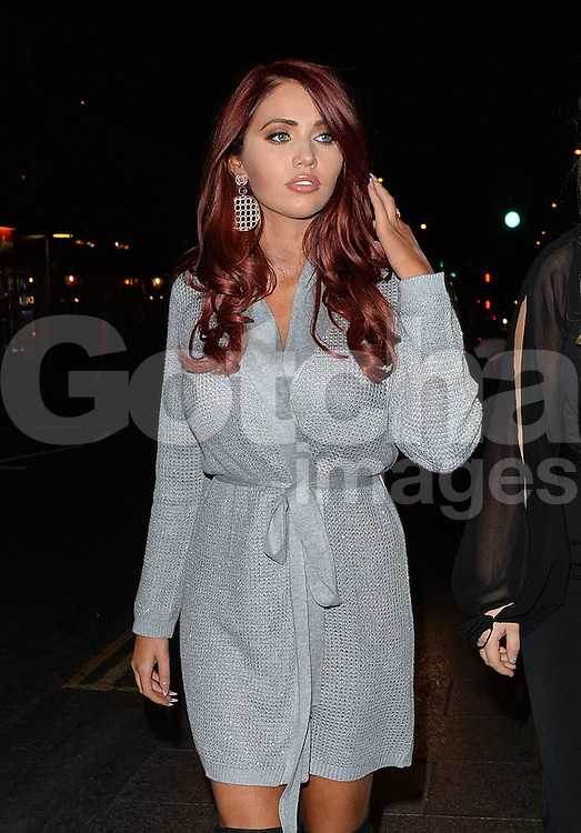 TOWIE star Amy Childs attends the Coco and Cater clothing launch party at Sugahut, Brentwood, Essex, UK. 23/10/2014<br />