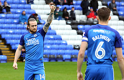 Jack Marriott of Peterborough United acknowledges the home supporters before the game - Mandatory by-line: Joe Dent/JMP - 28/04/2018 - FOOTBALL - ABAX Stadium - Peterborough, England - Peterborough United v Fleetwood Town - Sky Bet League One