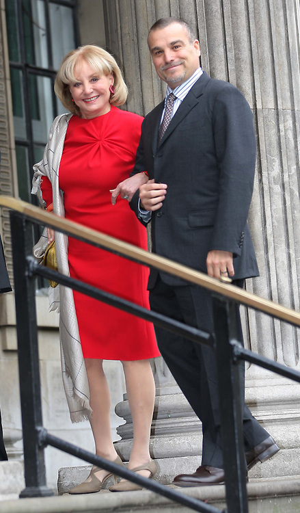 Barbara Walters at wedding of Sir Paul McCartney and Nancy Shevell at Old Marylebone Town Hall, Sunday 9th October 2011. Photo by: Stephen Lock/i-Images