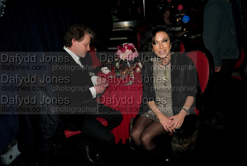 TIM WILLIS; NANCY DELL D'OLIO, Cloak and Dagger, - Amanda Eliasch - book launch - Entertainment by Miss Polly Rae and her Hurly Burly girls. <br />