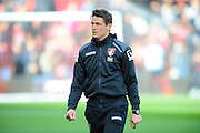 Bournemouth assistant manager Jason Tindall before the Barclays Premier League match between Bournemouth and Arsenal at the Goldsands Stadium, Bournemouth, England on 7 February 2016. Photo by Graham Hunt.