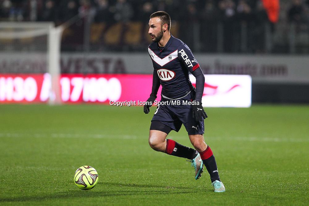 Diego CONTENTO - 03.12.2014 - Metz / Bordeaux - 16eme journee de Ligue 1 -<br />Photo : Fred Marvaux / Icon Sport