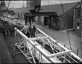 1962 - Oil drilling equipment arrives in Dublin