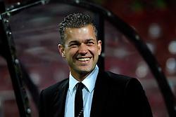 20-10-2009 VOETBAL: AZ - ARSENAL: ALKMAAR<br /> AZ in slotminuut naast Arsenal 1-1 / Joost van der Hoek, arts van AZ<br /> ©2009-WWW.FOTOHOOGENDOORN.NL