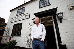 UK ENGLAND BERKSHIRE BUCKLEBURY 22MAR11 - John Hayley (age withheld) poses for a portrait at his pub, The Old Boot Inn at Stanford Dingley in Berkshire, England. Kate Middleton and Prince William are regular patrons to his pub and Mr Hayley has been invited to the Royal Wedding on the 29th of April 2011...jre/Photo by Jiri Rezac..© Jiri Rezac 2011