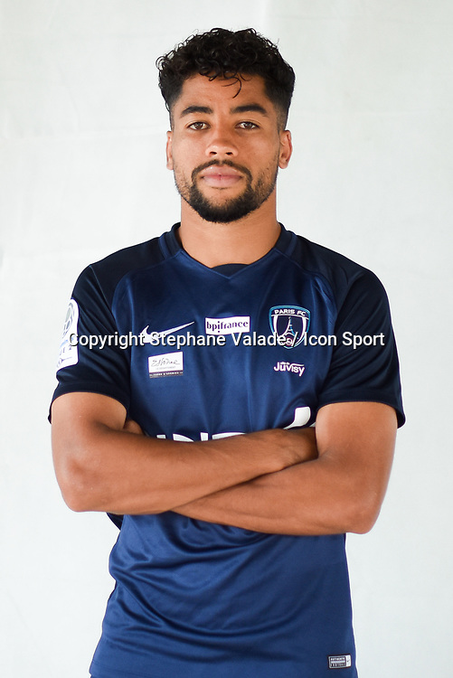 Saifeddine Alami during photoshooting of Paris FC for new season 2017/2018 on October 17, 2017 in Paris, France<br /> Photo : Stephane Valade / Icon Sport