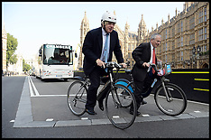 SEP 04 2013 Boris Safer Cycling with HGV