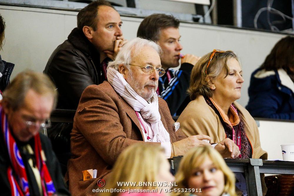 NLD/Heerenveen/20130112 - ISU Europees Kampioenschap Allround schaatsen 2013 dag 2, Mart Smeets en partner Karen Mulder