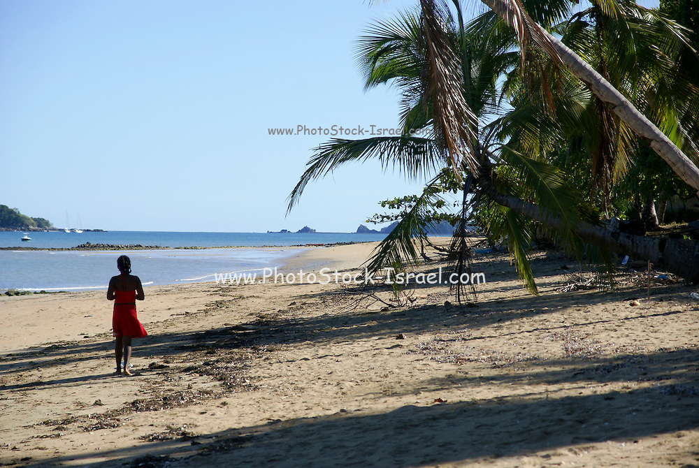 Madagascar, Nosy Be, The beach at low tide