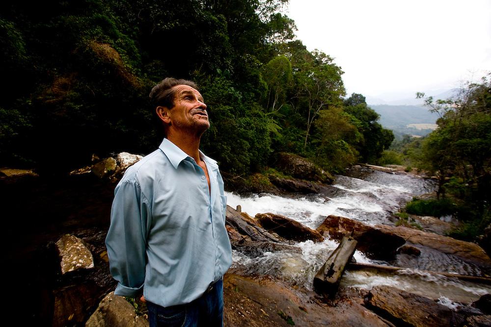 Bocaina de Minas_MG, Brazil.<br /> <br /> Jose Ferreira Diniz, o Ze Manuela, e detalhes da sua propriedade em Bocaina de Minas, Minas Gerais.<br /> <br /> Jose Ferreira Diniz, the Ze Manuela, in His property. <br /> <br /> Foto: LEO DRUMOND / NITRO