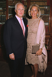 MR & MRS WINSTON CHURCHILL at a party in London on 16th September 1997.<br /> MBE 44