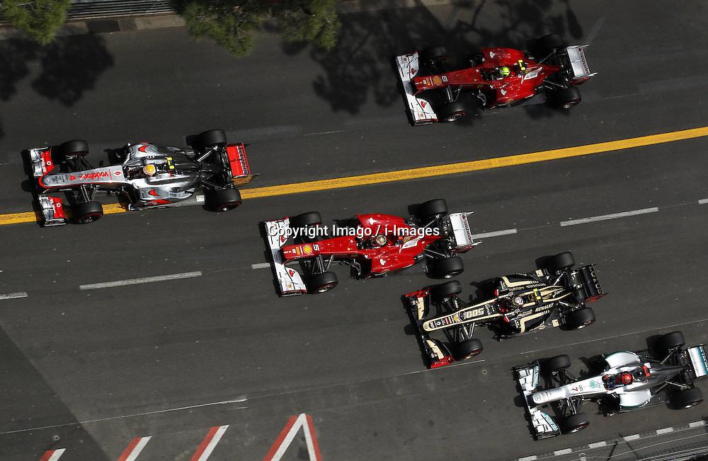 Monaco Grand Prix, Sunday, 27th May 2012.   Photo by: Imago / i-Images