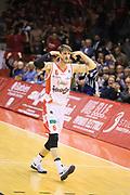 Polonara Achille<br /> Grissin Bon Reggio Emilia - The Flexx Pistoia<br /> Lega Basket Serie A 2016/2017<br /> Reggio Emilia 30/04/2017<br /> Foto Ciamillo-Castoria