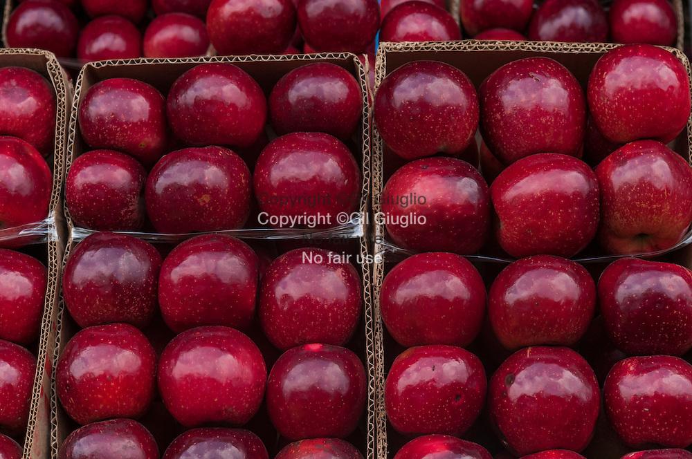 Azerbaïdjan, région et ville de Gouba, fameuses pommes de la région // Azerbaidjan, région and town of Guba, famous apples of area