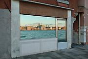 Venice, Italy, 2005. Riflesso delle Zattere alla Giudecca.