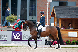 Hosmar Frank, NED, Alphaville<br /> Nederlands Kampioenschap Dressuur <br /> Ermelo 2017<br /> © Hippo Foto - Dirk Caremans<br /> 14/07/2017