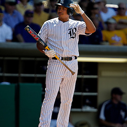 06 June 2009: Anthony Rendon (23) of Rice at bat during a 5-3 victory by the LSU Tigers over the Rice Owls in game two of the NCAA baseball College World Series, Super Regional played at Alex Box Stadium in Baton Rouge, Louisiana. The Tigers with the win advance to next week's College Baseball World Series in Omaha, Nebraska.