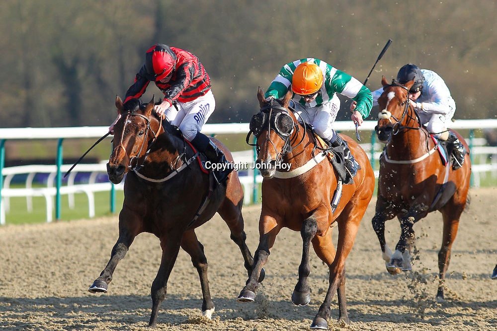 Poetic Lord and Ryan Moore winning the 5.55 race