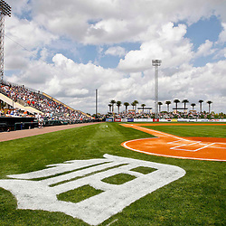 Feb 23, 2013; Lakeland, FL, USA; A general view from the field during a spring training game between the Toronto Blue Jays and the Detroit Tigers at Joker Marchant Stadium. Mandatory Credit: Derick E. Hingle-USA TODAY Sports