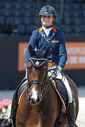 Bos Rosalie (NED) - Equestrocone Bouta<br /> Equine MERC Young Riders Team Test<br /> Dutch Championship Dressage - Ermelo 2015<br /> © Hippo Foto - Dirk Caremans<br /> 17/07/15