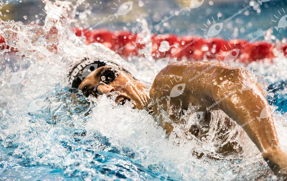 MELLOULI Oussama TUN<br /> Men's 400m Freestyle<br /> Doha Qatar 05-12-2014 Hamad Aquatic Centre, 12th FINA World Swimming Championships (25m). Nuoto Campionati mondiali di nuoto in vasca corta.<br /> Photo Giorgio Scala/Deepbluemedia/Insidefoto