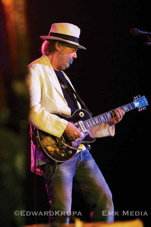 "Neil Young playing his ""Old Black"" Les Paul at Massey Hall in Toronto, Canada May 11th 2011."