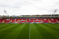 View of the Ben Bennett Family stand at Rotherham United's Aesseal New York Stadium - Mandatory by-line: Ryan Crockett/JMP - 14/10/2017 - FOOTBALL - Aesseal New York Stadium - Rotherham, England - Rotherham United v Scunthorpe United - Sky Bet League One