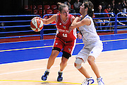 DESCRIZIONE : Latina Basket Campionato Italiano Femminile serie B 2011-2012<br /> GIOCATORE : Giulia Gombac<br /> SQUADRA : College Italia<br /> EVENTO : College Italia 2011-2012<br /> GARA : Cestistica Latina College Italia <br /> DATA : 09/12/2011<br /> CATEGORIA : penetrazione<br /> SPORT : Pallacanestro <br /> AUTORE : Agenzia Ciamillo-Castoria/GiulioCiamillo<br /> Galleria : Fip Nazionali 2011<br /> Fotonotizia :  Latina Basket Campionato<br /> Italiano Femminile serie B 2011-2012<br /> Predefinita :