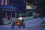 Amish farm wagon buggy, Mascot Mill, Lancaster County, PA