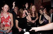 Group of girls dancing Club Class, Ikon, Maidstone, Kent, 2002