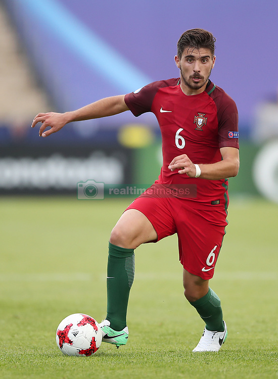 Portugal's Ruben Neves in action during the match