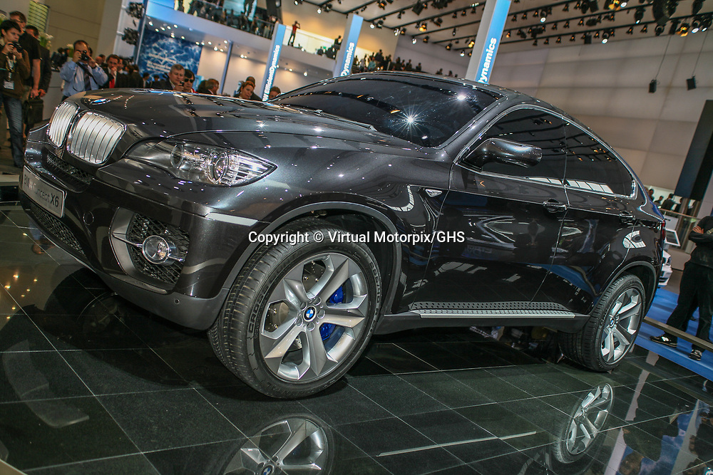 BMW X6 Concept (2007) | Virtual Motorpix