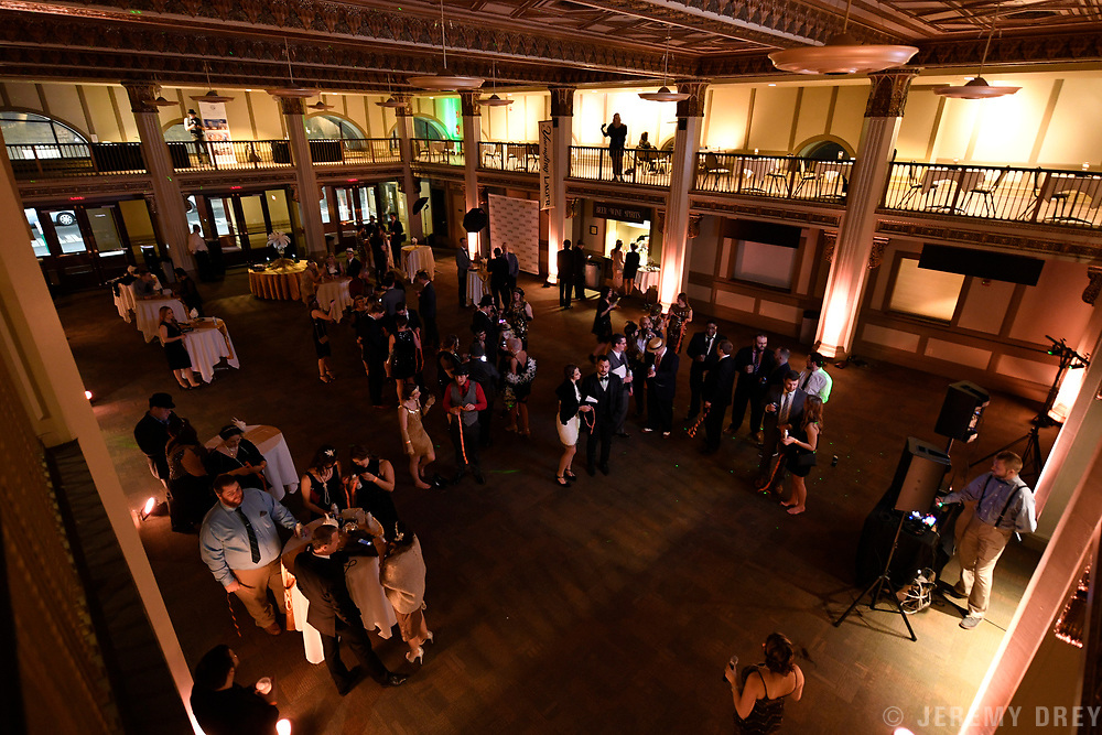Greater Reading Young Professionals Gala G!G! 2018 at the Santander Performing Arts Center, Reading.
