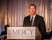 Chair, Mercy Foundation, Inc. Board of Directors Thomas Caplis at the Mercy Hospital & Medical Center's 51st Dinner Dance Gala. The event took place at the Hilton Chicago on September 28, 2018. Dr. Robert M. Gasior and Honorable Patrick Huels were honored at the event, emceed by Kristen Nicole, anchor at Fox 32 Chicago. Proceeds will benefit Cardiovascular Services including screening, intervention, rehabilitation, wellness and prevention programs for patients and families. (Photo:Natalie Battaglia)