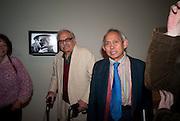 RASHID AARAREN; DAVID MEDALLA, Migrations private view, Tate Britain. London. 30 January 2012.
