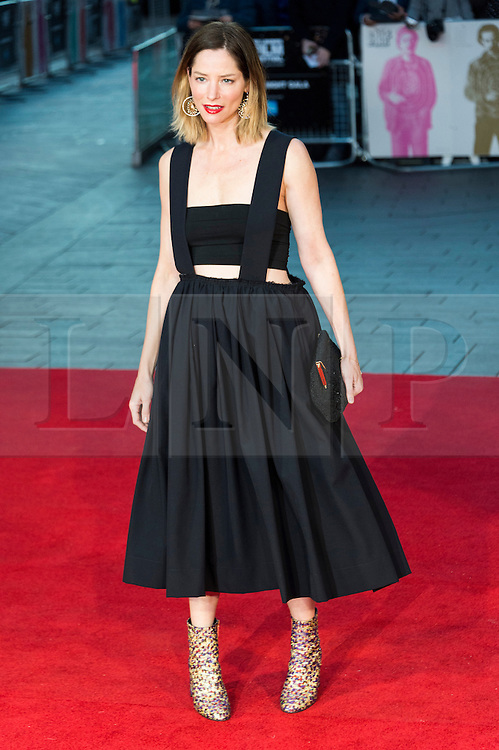 © Licensed to London News Pictures. 16/10/2016. London, UK. SIENNA GUILLROY attends the film premiere of Free Fire showing at The London Film Festival. Ray Tang/LNP