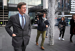 © Licensed to London News Pictures. 10/12/2018. London, UK. GREG CLARK leaves a Conservative Friends of Israel event in central London. Mrs May is expected to call off tomorrows withdrawal agreement vote when she speaks in the House of Commons later. Photo credit: Ben Cawthra/LNP